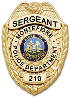 Eagle Shield Police Badge 3 | Badge And Wallet