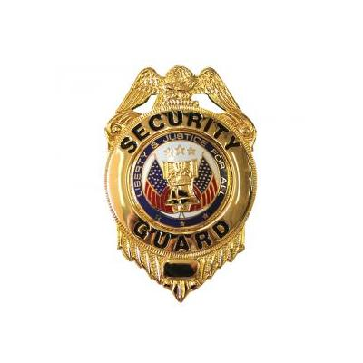 Nickel Security Guard Badge