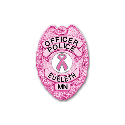 Police Eueleth Officer Minnesota Breast Cancer Awareness