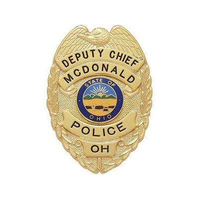 Deputy Chief McDonald Police OH