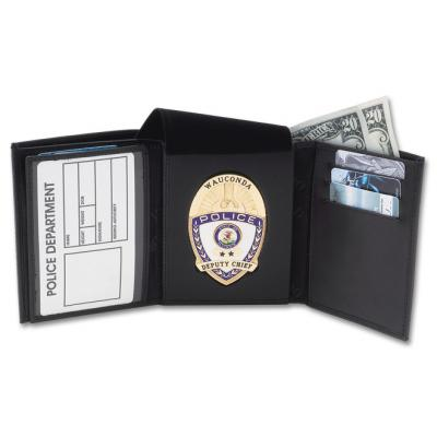 DK-98 Traditional Tri-fold badge wallet