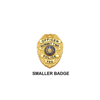 Summit Twp. Police Miniature Badge