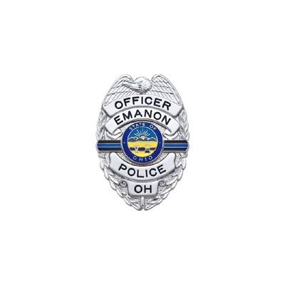 Emanon Police Memorial Badge