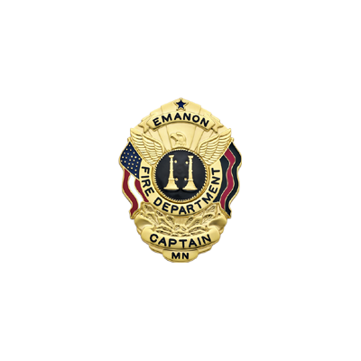 Emanon Fire Department Memorial Badge