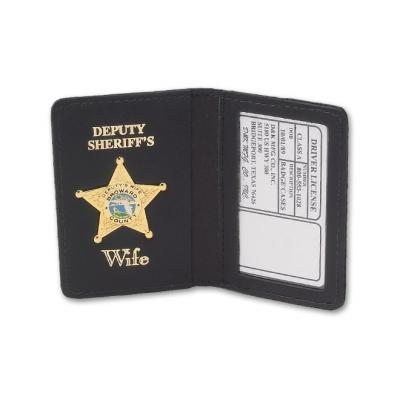 DK-200DL Shown with Deputy Sheriff's Wife imprint and badge.