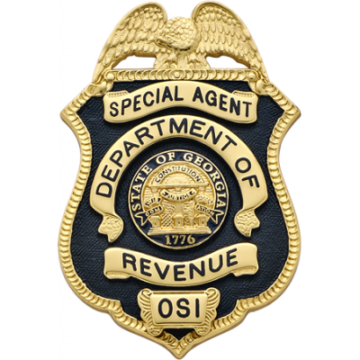 Department of Revenue Special Agent Badge Model M204TAC