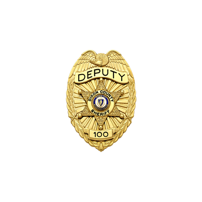 Dixon County Sheriff's Deputy Badge Style S88