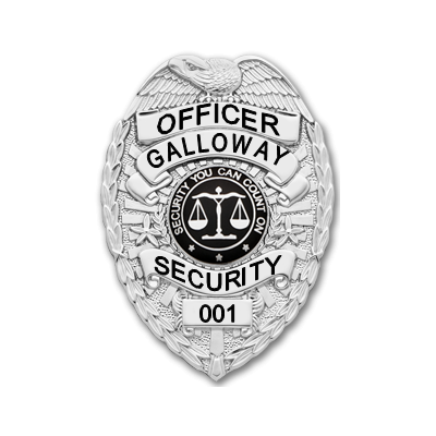 Galloway Security Officer Badge