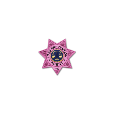 Breast Cancer Awareness Badge Model S243-PINK
