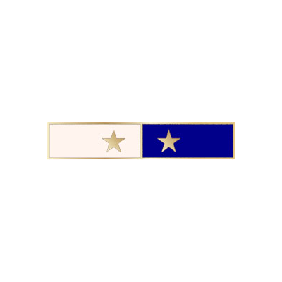 C581_2 Citation Commendation Bar with 2 colors and 2 stars