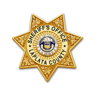 La Plata County Sheriff's Office Full-Sized Badge