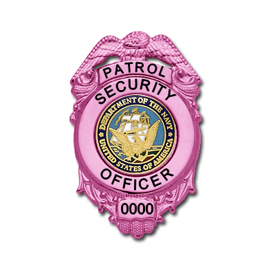 M180 Pink Breast Cancer Awareness Badge