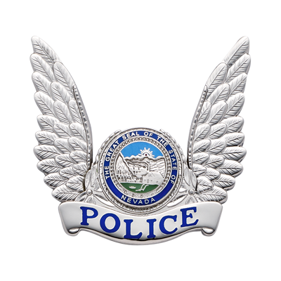 Police Hat Badge model S656