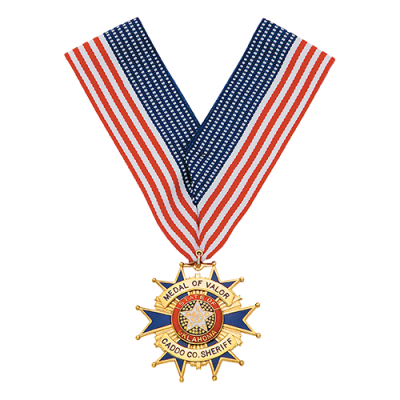 Medal of Valor Cacddo Co. Sherrif