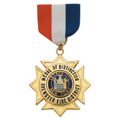 MEDAL OF DISTINCTION BREWSER FIRE DISTRICT