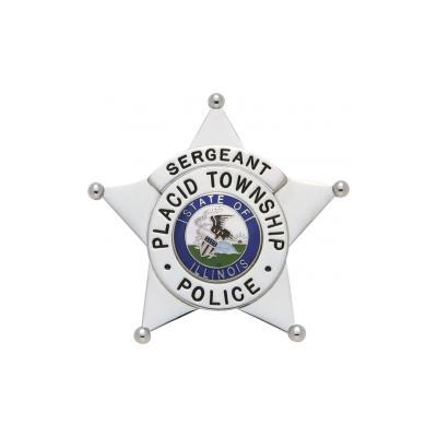 Placid Township Police Badge