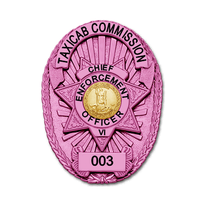 Breast Cancer Awareness Pink Badge Style M261F