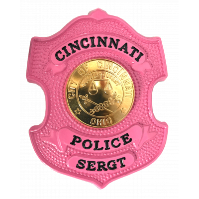 Cincinnati Police Sergeant Badge Model SW-GW650_SERGT