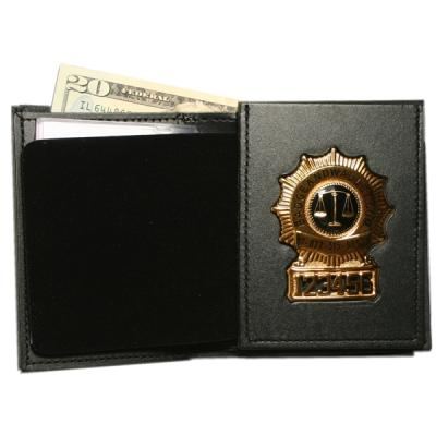 Product Image 1 for custom badge wallet product Bi-fold Badge Wallet with Flip out