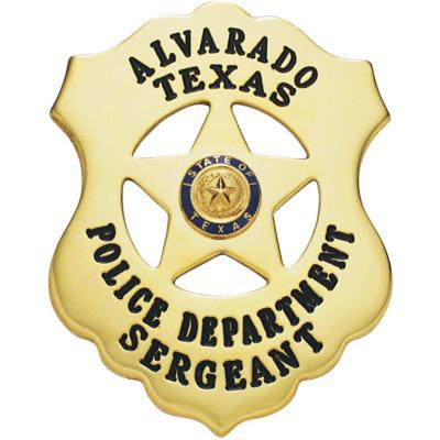 Alvarado Texas Police Department Sergeant