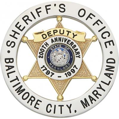 Baltimore City Maryland Sheriff Office