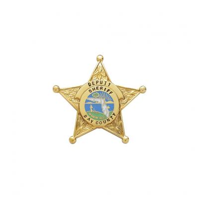 Bay County Sheriff Florida Miniature badge.