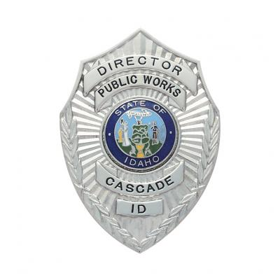 Public Works Cascade Director Idaho Badge Model S115