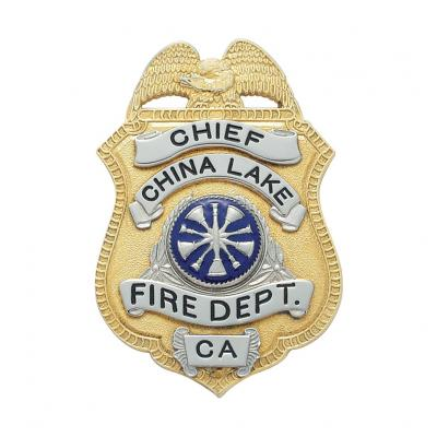 China Lake Fire Department Chief California