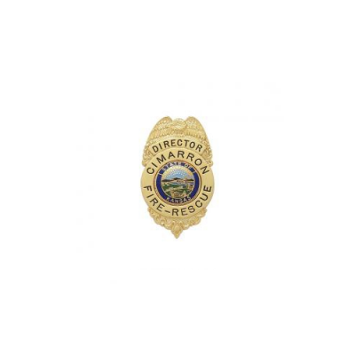 Cimarron Fire-Rescue Director Badge Model S211