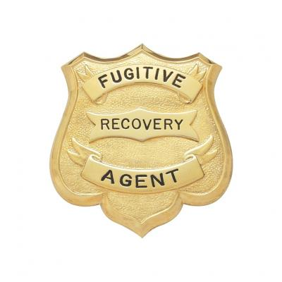 Fugitive Recovery Agent Badge Model S173
