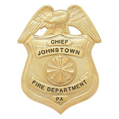 Johns Town Fire Department Chief  Pennsylvania