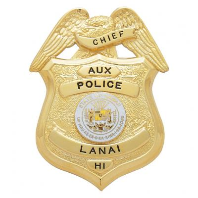 Aux Police Lanai Chief  Hawaii