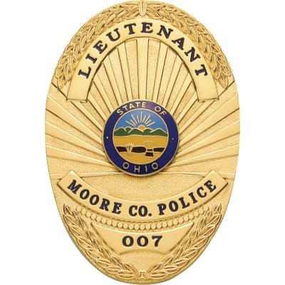 Moose County Police Department Badge Style S512
