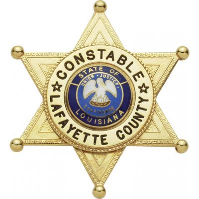 Lafayette County Constable Badge Model M376