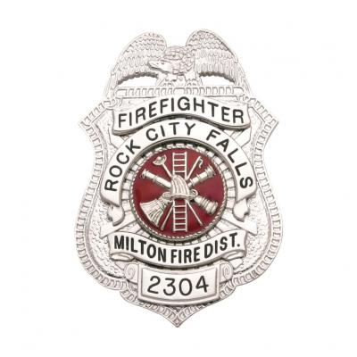 Rock City Falls Milton Fire District Firefighter