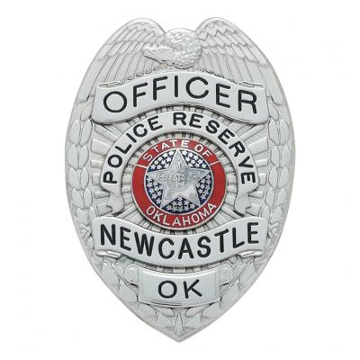 Police Reserve Newcastle Officer Oklahoma