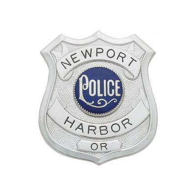 Newport Harbor Oregon Badge Model S188