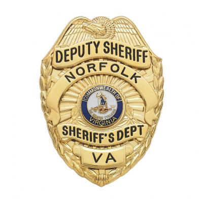 Norfolk Sheriff Department Virginia Deputy Sheriff