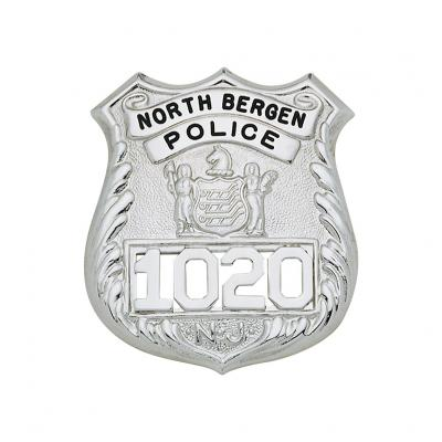 North Bergen Police Badge New Jersey Specific Model S141