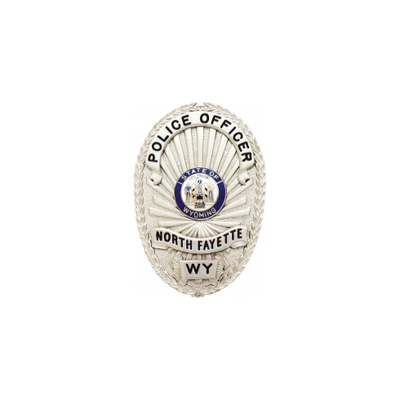 North Fayette Police Officer Badge Style M260D