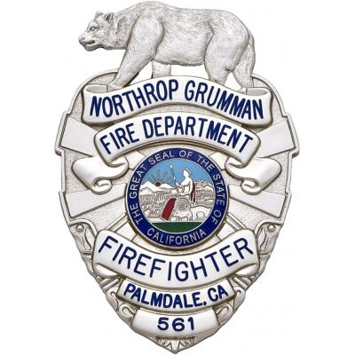 Northrop Grumman Fire Department Palmdale California Firefighter