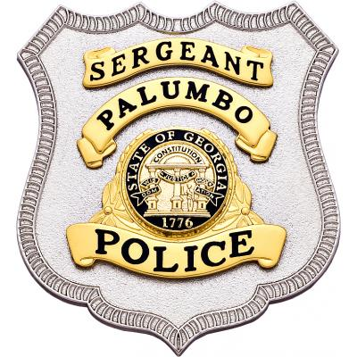 Sergeant Palumba Police badge Model S594
