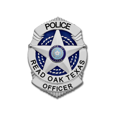 Read Oak Texas Police Officer S507B