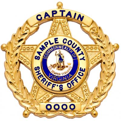 Sample County Sheriff Office Captain