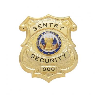 Sentry Security Badge Model S138