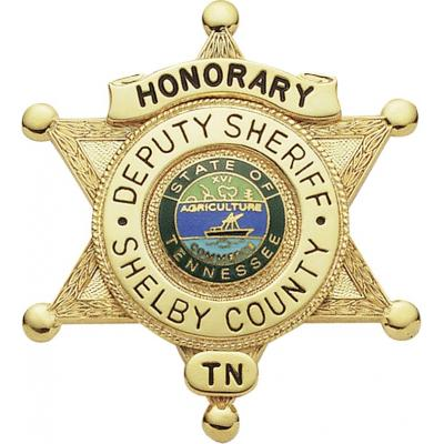Shelby County Honorary Deputy Sheriff Tennessee