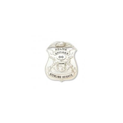 Police Officer Sterling Heights badge