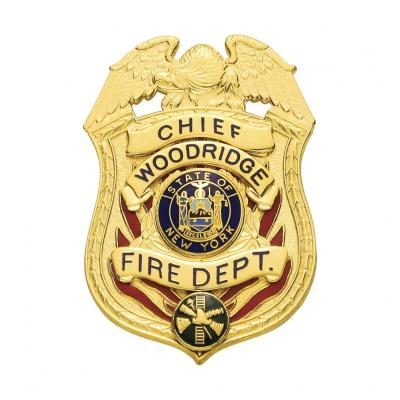 Chief  Woodridge Fire Dept. badge