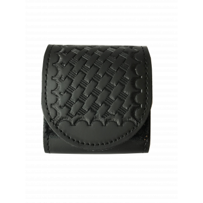 PF-LBP Buckle Protector shown in Basket Weave finish.