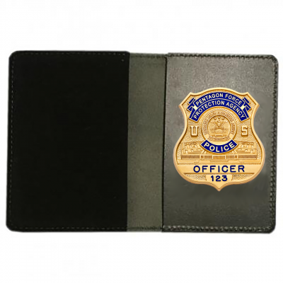 PFPA Recessed Badge & Double ID Case